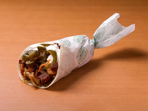 Burrito carnita louca