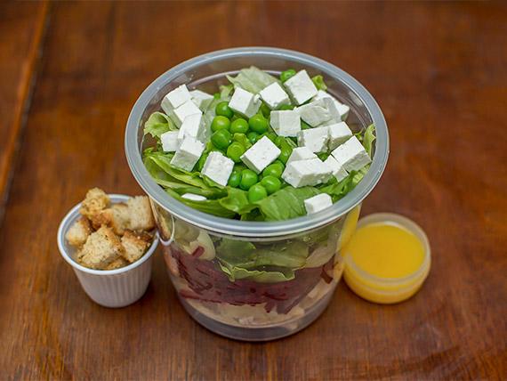 Salada de lombo (265 kcal)