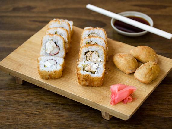 Menú sushi tempura - 13 bocados + bebida