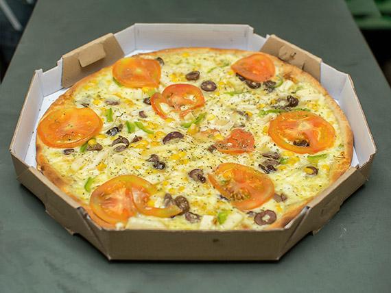 Pizza grande vegetariana