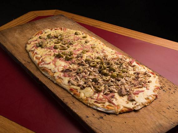 Pizza especial con pollo