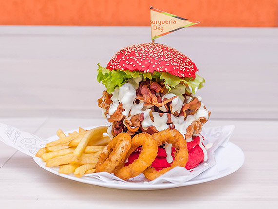 15 - Burger artesanal pepperoni