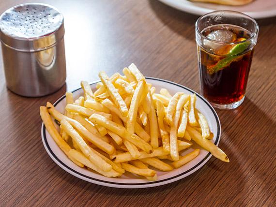 Porção de batatas fritas (média)