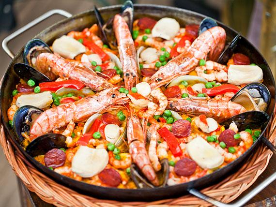Paella Don Javier - 2 porciones