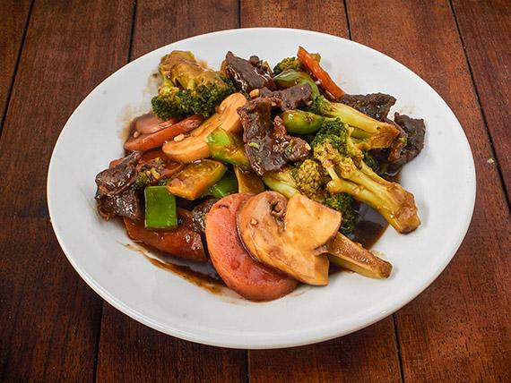 24 - Carne com brócolis
