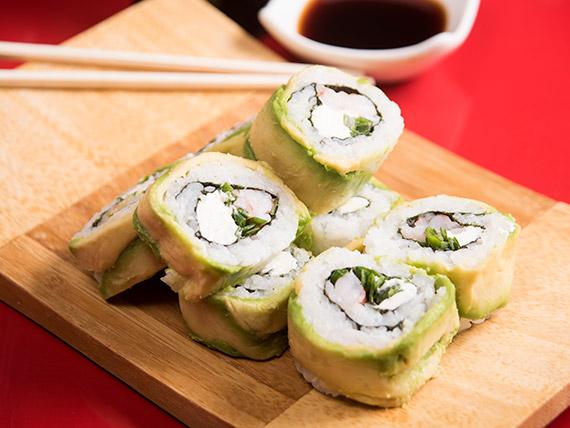 Ebi tempura roll (8 piezas)