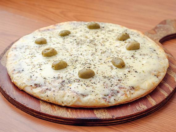 01 - Pizza con muzzarella