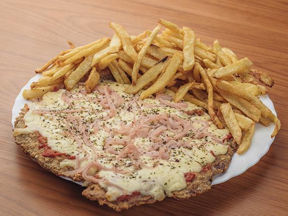 Pizzanesa  muzzarella