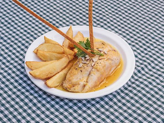 Sugerencia - Pechuga rellena con salsa agridulce