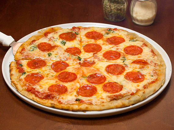 Pizza extra pepperoni - mediana (29 cm)
