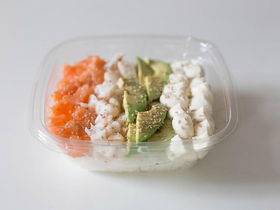 Ensalada de sushi mixta