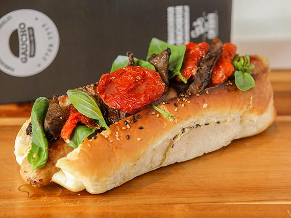 Hot dog de cerdo al curry fungi  (180 gr)