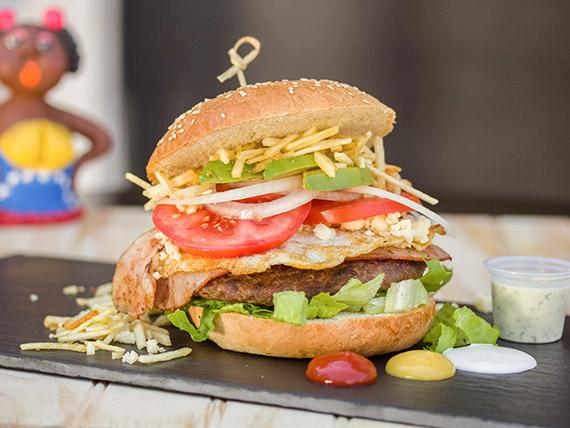 Hamburguesa miss venezuela