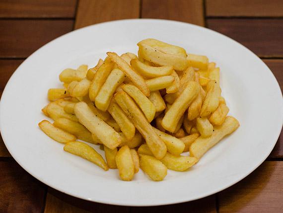 Porção de fritas simples