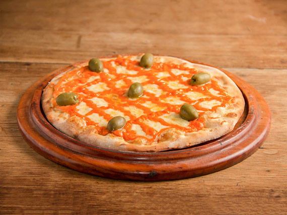 165 - Pizza suprema de queijo