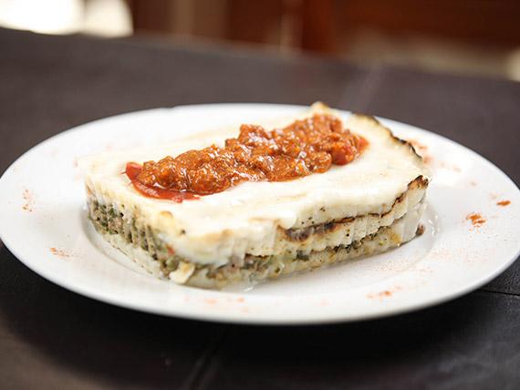 Menú - Lasagna mixta