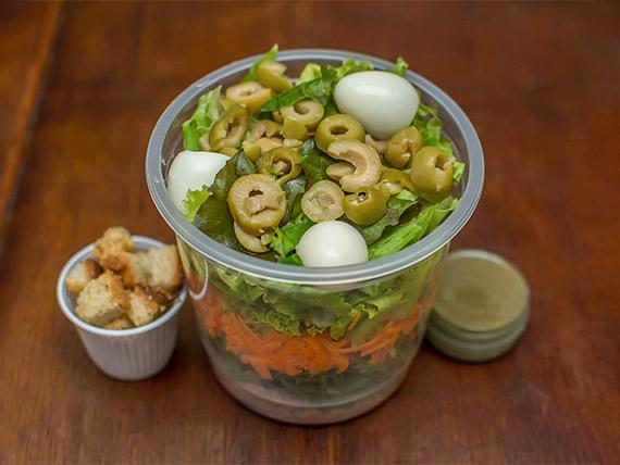 Salada de atum (237 kcal)