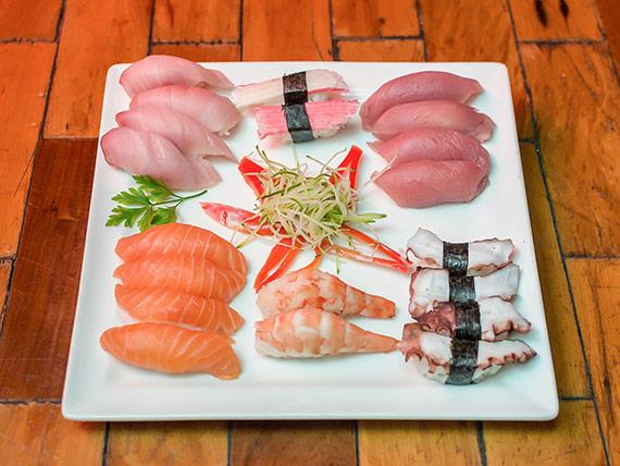 Combinado kazuki sushi (22 peças)