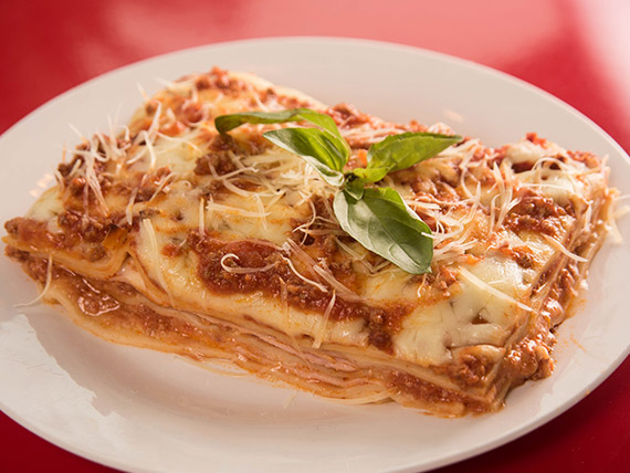 Lasagna de bolognesa