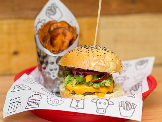 Burger guacamole  street