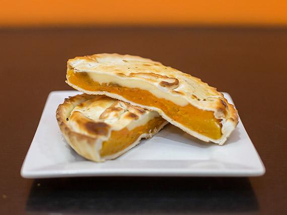 Tarta de zapallo y queso