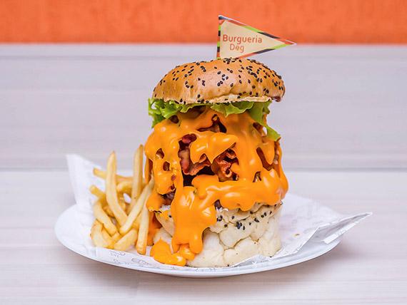 4 - Burger artesanal barbecue
