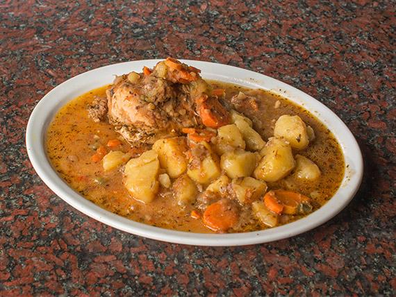 Pollo a la portuguesa (de lunes a viernes)