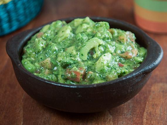 Porción de guacamole