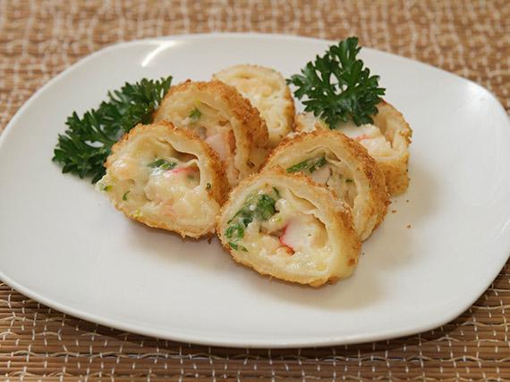 Mokimono hot night roll - o mais crocante de todos! (10 peças)
