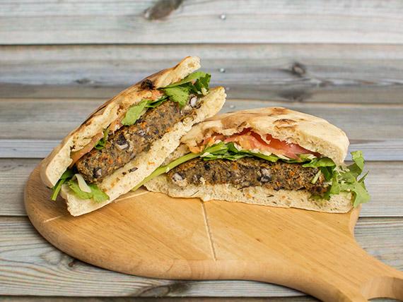 Sándwich Vegan