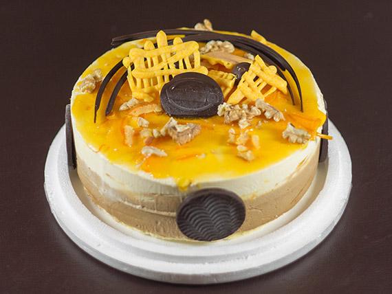 Torta manjar tropical