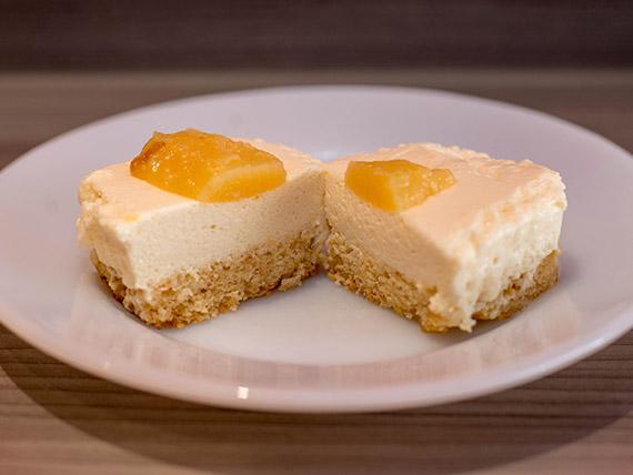 Cheesecake de limón