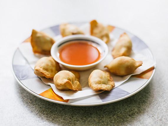 Wan-tan frito (8 unidades)