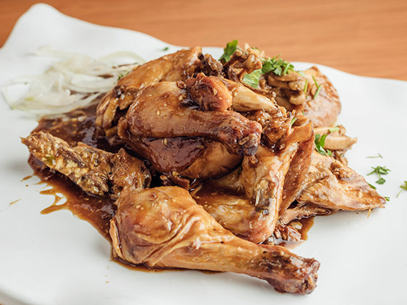 Taiwan dark chicken para 2 personas