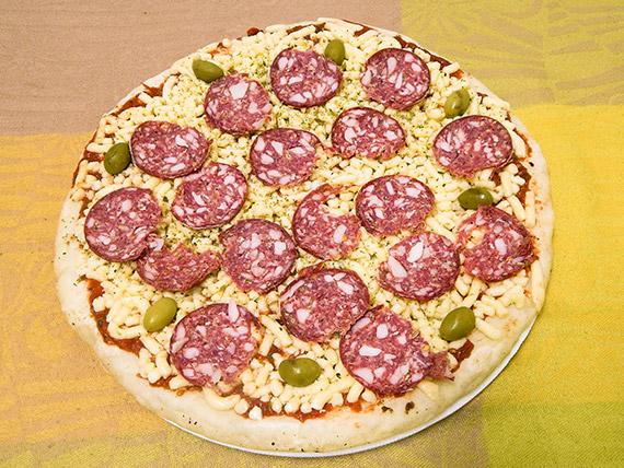 Pizza calabresa (para hornear)