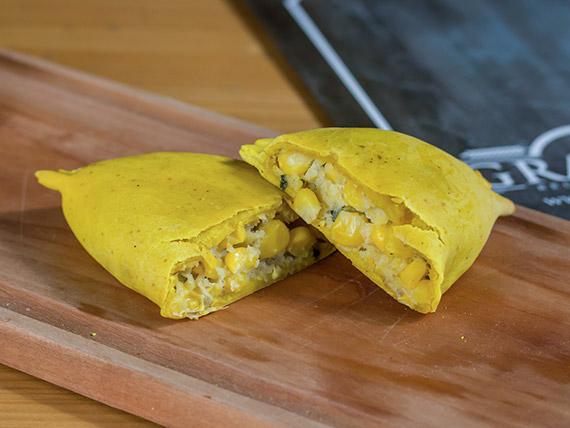 Empanada pastel de choclo