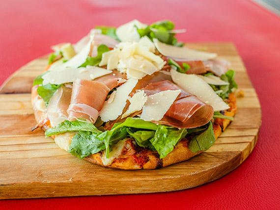 Pizza abruzzesa a la parrilla (12 porciones)