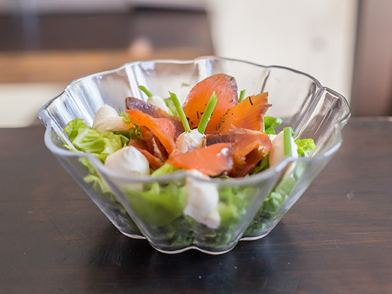 Salad smoked