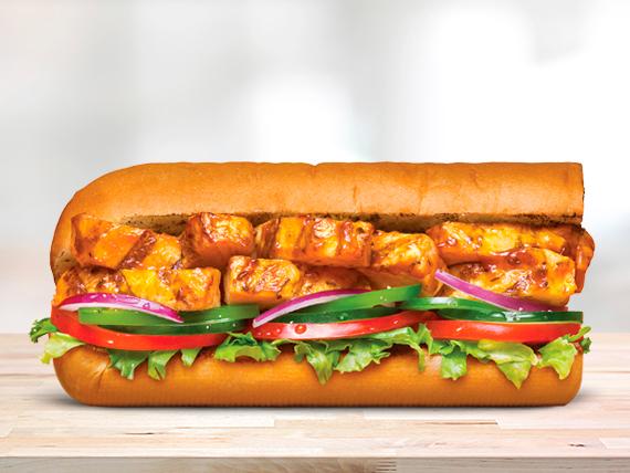 Sándwich de pollo teriyaki (15 cm)