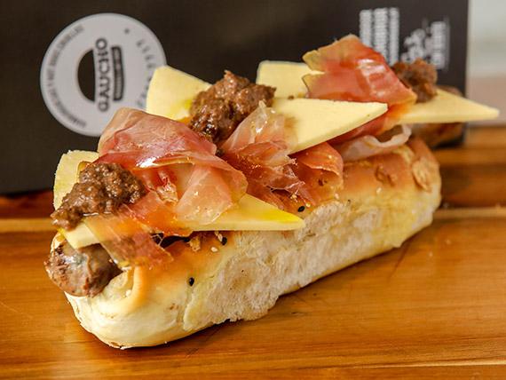 Hot dog de cordero ibérico (180 gr)