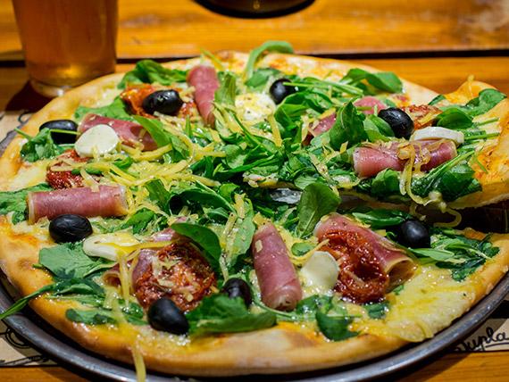 Pizza gourmet Ibérica grande