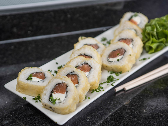 Razz tempura 33 (9 piezas)