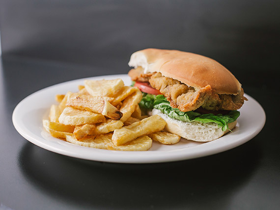 Sándwich completo de ternera