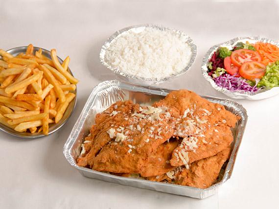 Kit frango à milanesa (4 pessoas)