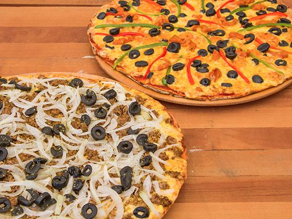 Promo 2 - 2 Pizzas familiares a elección