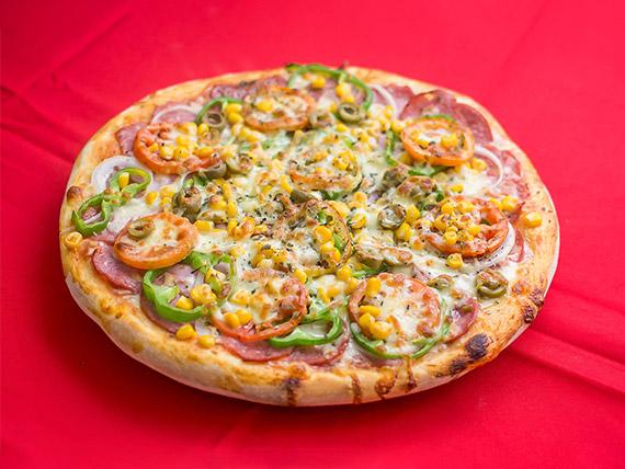 10 - Pizza à moda média