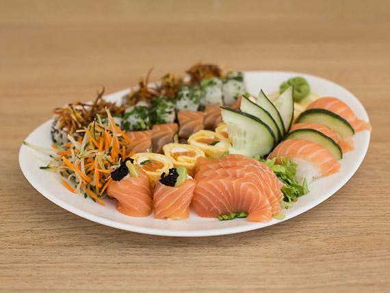 Menú - 30 salmón premium