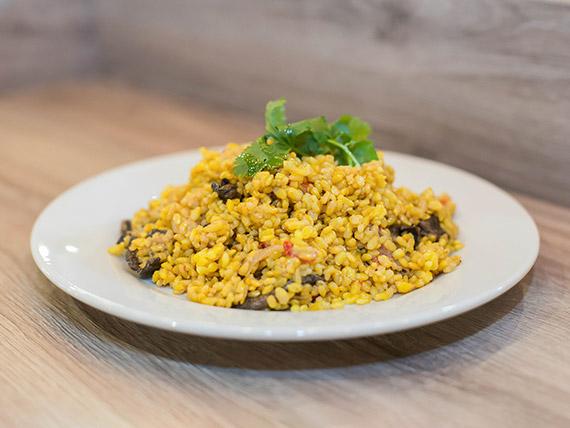 Menú - Wok de arroz yamani