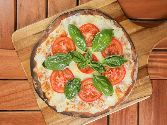 Pizzeta mediana con gustos
