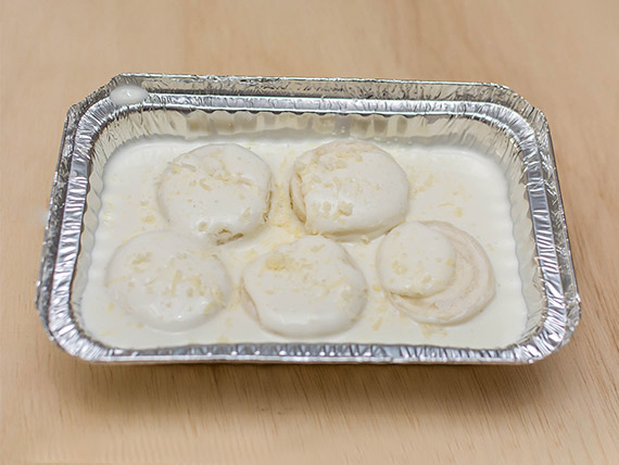Rondelli quatro queijos (individual)